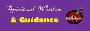 1 - spiritual wisdom guidance