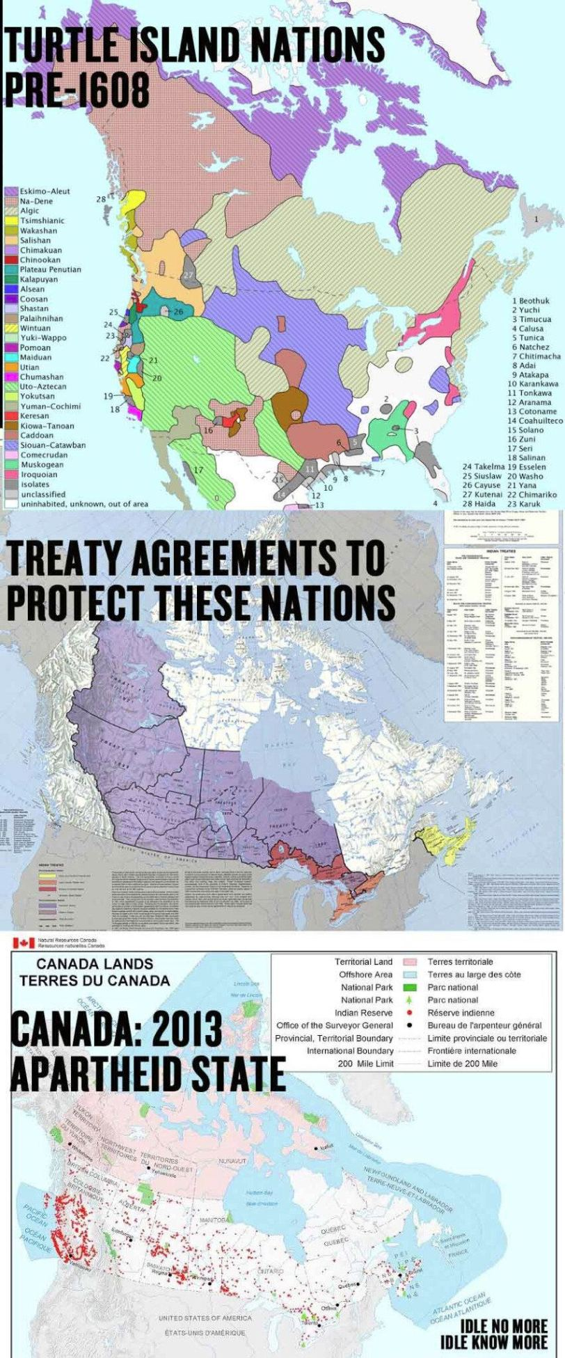 TURTLE ISLAND NATIONS FOREVER! - #IDLENOMORE