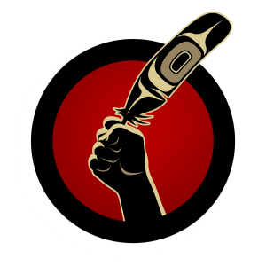 idle-no-more-feather-fist-logo