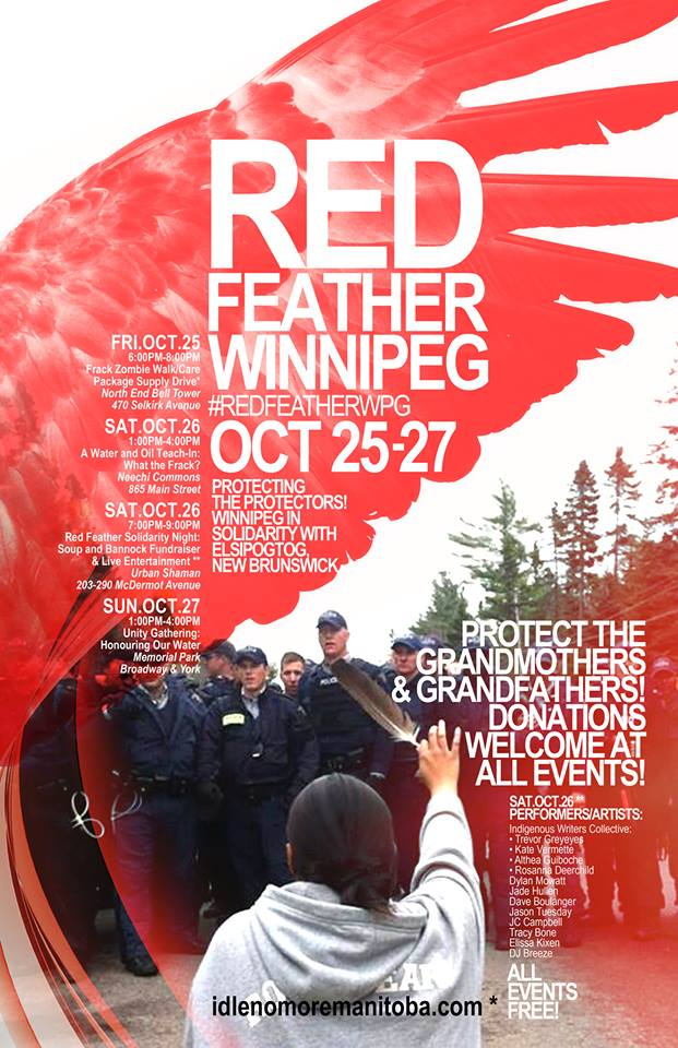 RED FEATHER WPG POSTER